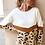 Thumbnail: Khaki Leopard Knitted Sweater
