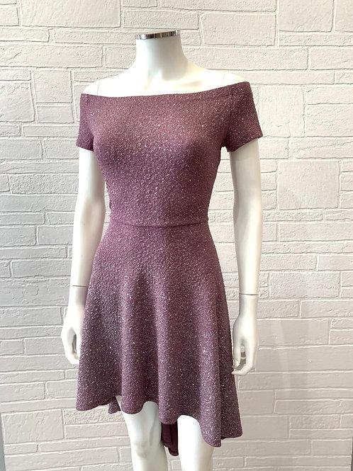 Glitter High Low Dress