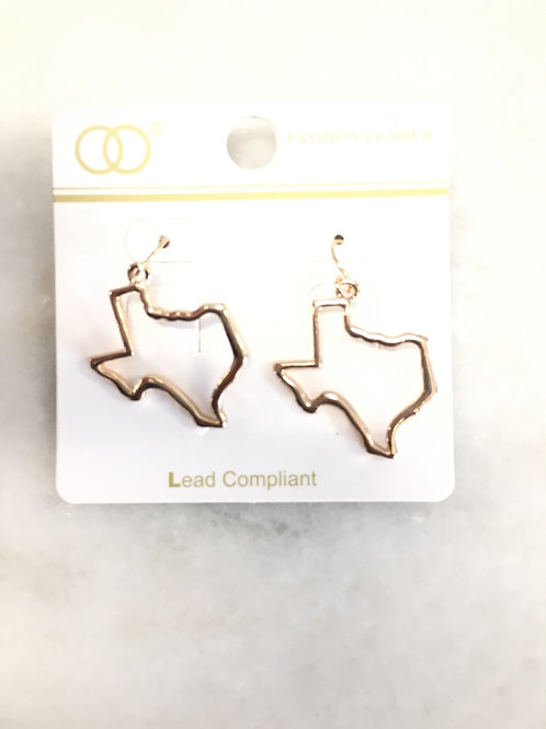 Texas Shape Earring