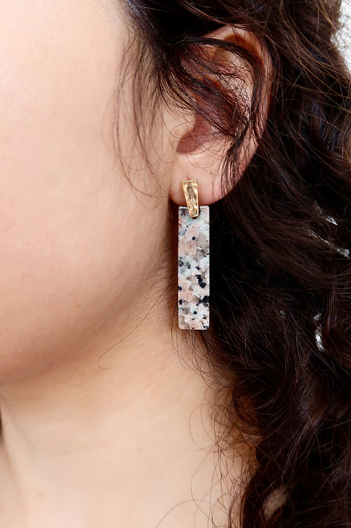 Spotted Drop Earrings