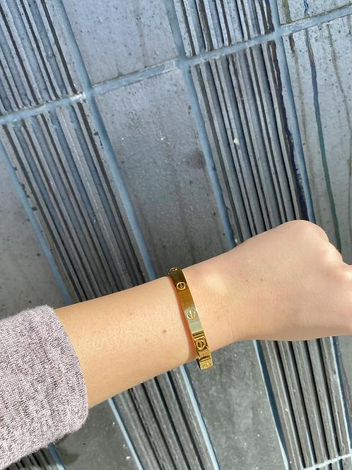 Love Bracelet Gold Wide