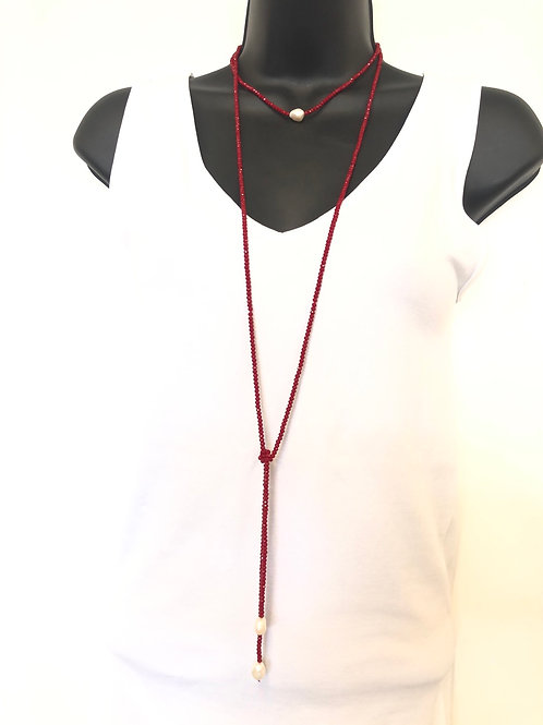 Pearl Lanyard Necklace