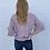 Thumbnail: Mauve Pearl Ruffle Sweater