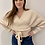 Thumbnail: Tie Front Sweater Butter Yellow
