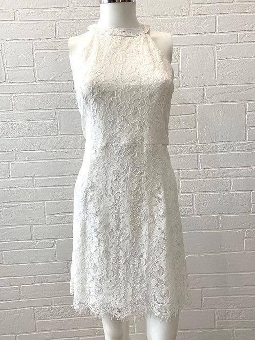 Sleeveless Lace Bodycon Dress