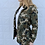 Thumbnail: Camo Oversized Military Jacket Light