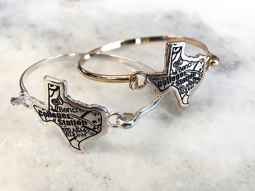 College Station Texas Bracelet