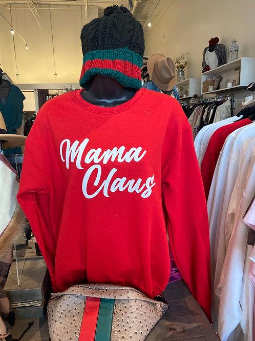 Mama Claus Pullover