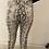 Thumbnail: Cream Snake Print Pants