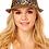 Thumbnail: Leopard Fedora Straw Hat