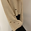 Thumbnail: Wide Sleeve Distressed Sweater Cream