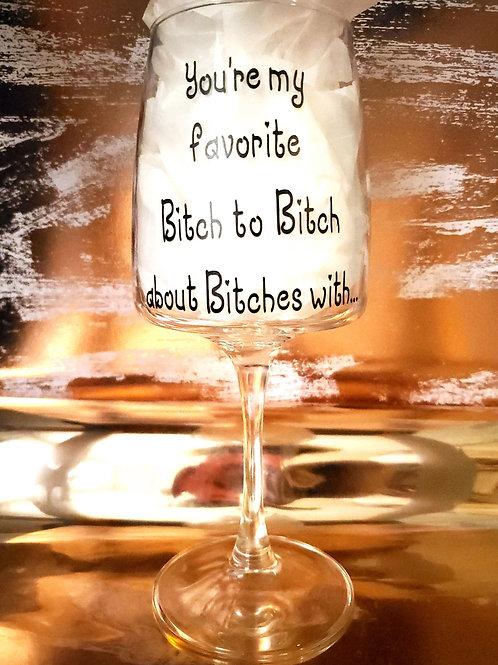 Red Wine Glass #1