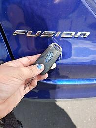 Ford Fusion Keys