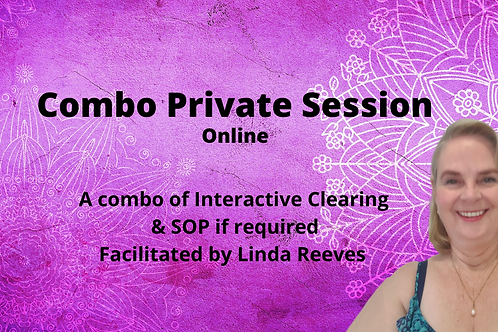 Online Combo Private Session 1.5 hrs