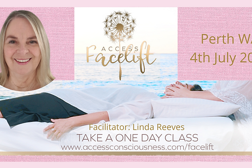 Energetic Facelift™ Practitioner Class  4th July 2021  $300