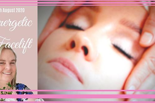 Energetic Facelift Session - 1.5 hr $180.00