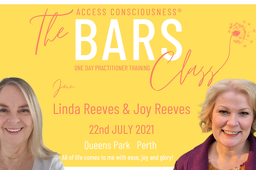Access Bars Practitioner Class 22nd July 2021