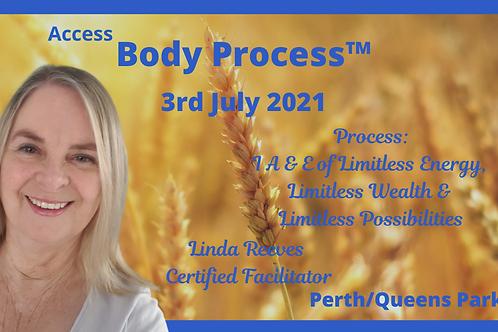 Access Body Process - 3rd July 2021