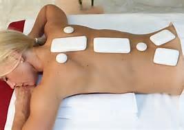 cold stone massage