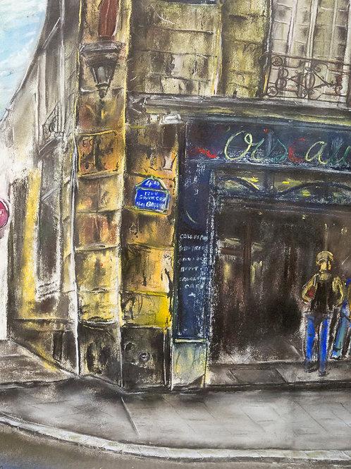 Miho Hirakawa, Rue Sainte Croix de la Bretonnerie 75004 Paris