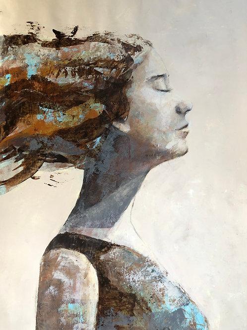 """""""Cheveux au vent"""" de Nicholas Coss"""