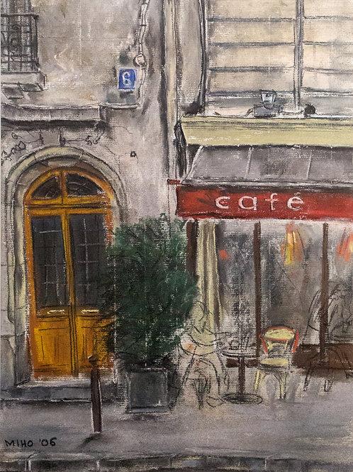 Miho Hirakawa, Café de l'Odéon 75006 Paris
