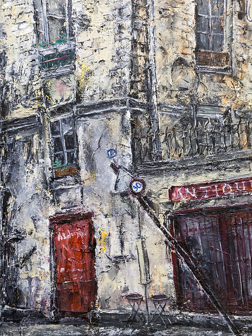 Miho Hirakawa, Rue Payenne, 75003 Paris