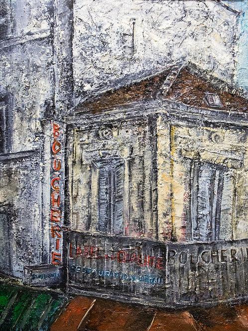 Miho Hirakawa, Rue de Paris, Montreuil