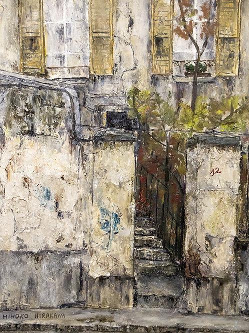Miho Hirakawa, Rue Pixecourt 75020 Paris
