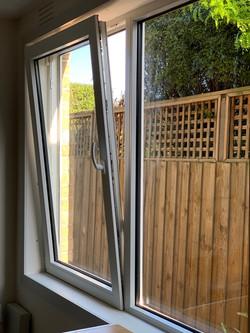 Tropical White Tilt and Turn window