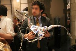 W1. Tin Can Velociraptor