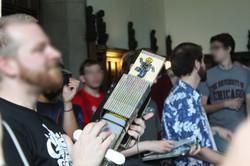 132. Laser Harp