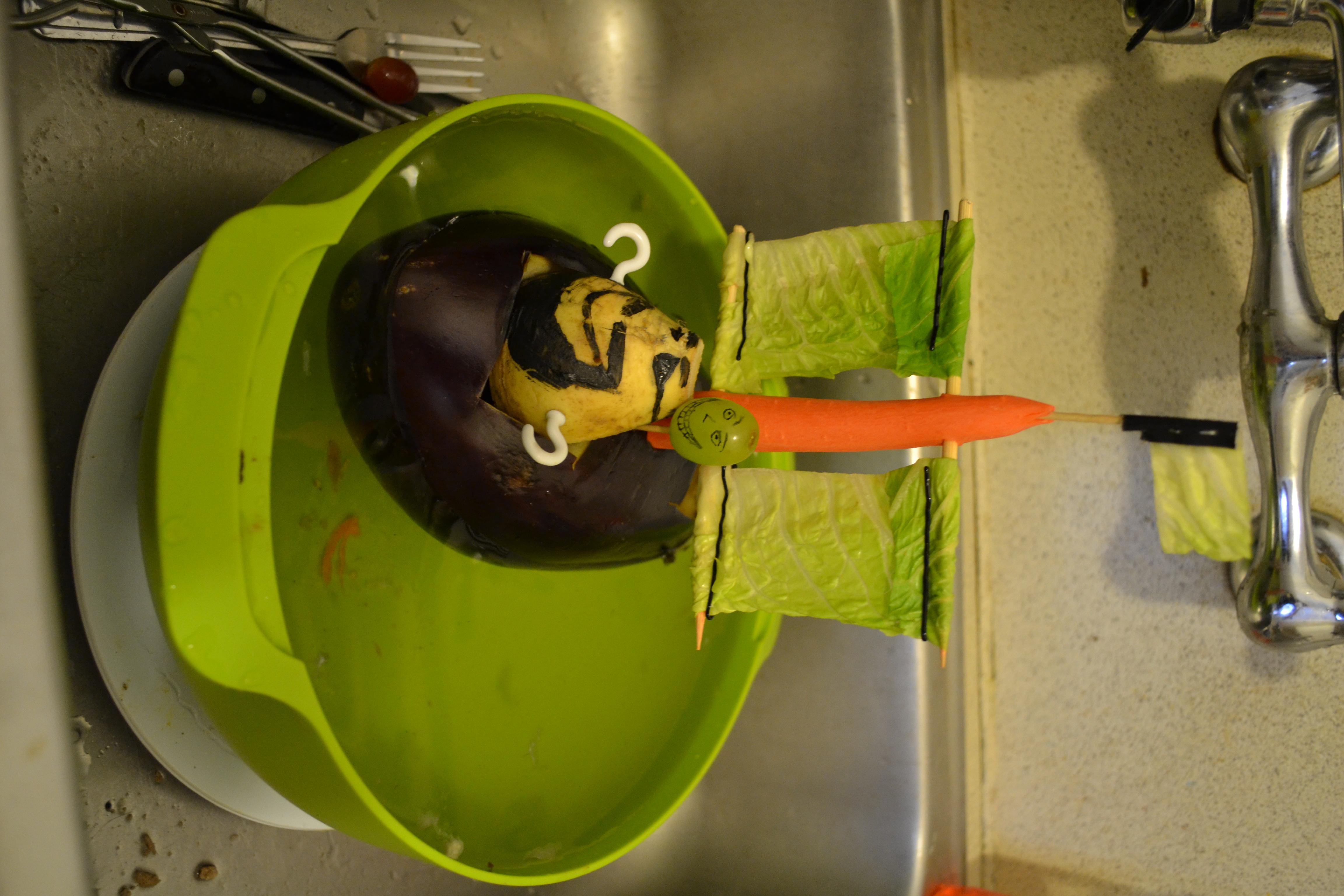3. Eggplant Boat