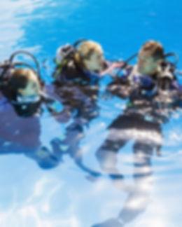 Scuba Training en piscine