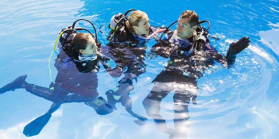 Open Water Pool Dive (10/27)