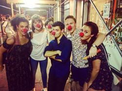 Surprise Clowns post-show @FringeNYC