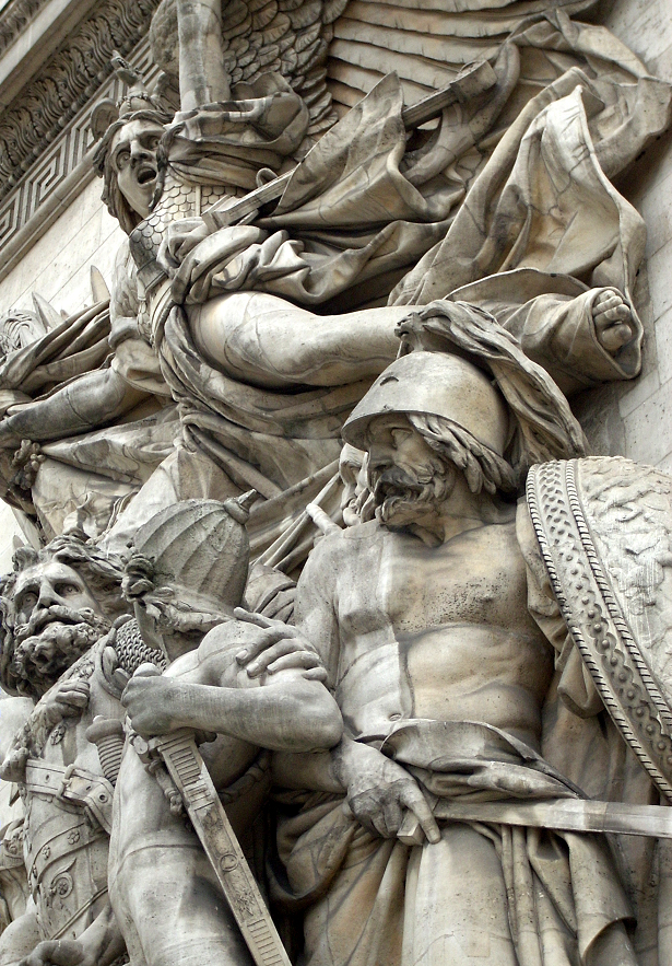 ArcdeTriompheSculpturesRightCloseUp