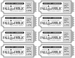 School Dance Tickets