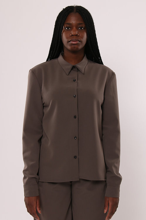 TAUPE CLASSIC SHIRT