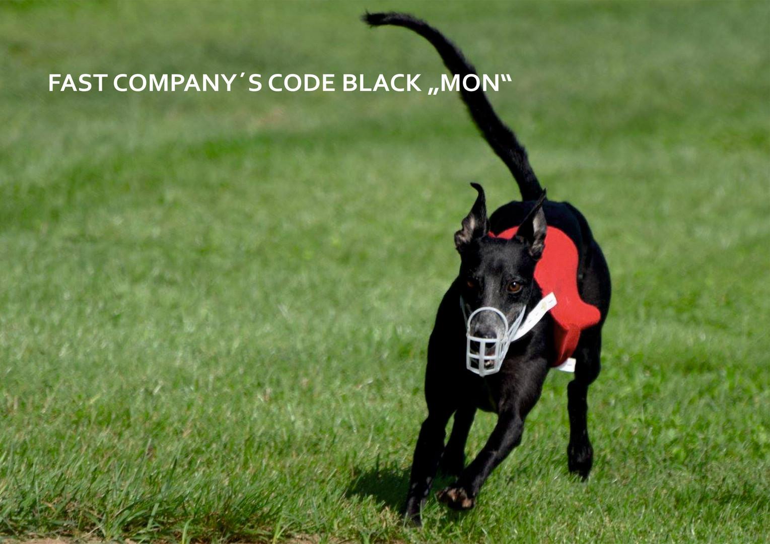 """FAST COMPANY´S CODE BLACK """"MON"""""""