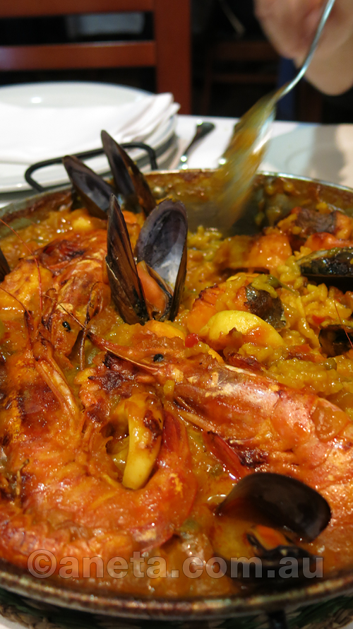 It wouldn't be Spain without Paella !