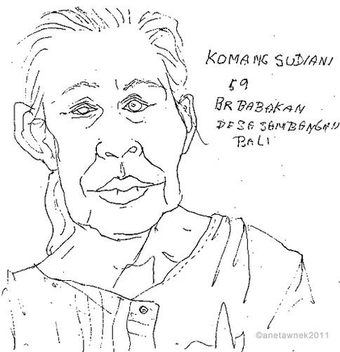 Komamg Sudiani, 59. Chained in dark room