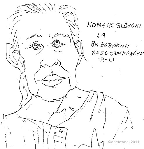 Komamg Sudiani, 59. Chained in dark room