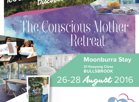 Charcoal & Champagne at The Conscious Mother Retreat in Bullsbrook