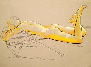 Life-drawing by Aneta