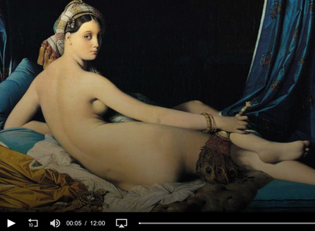 "RN PODCAST : ""Nudity, easels and the science of embodiment"""