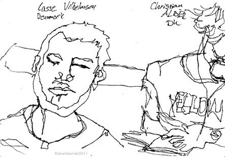 Lasse Vilhelmseu & Christian Alber (Denm