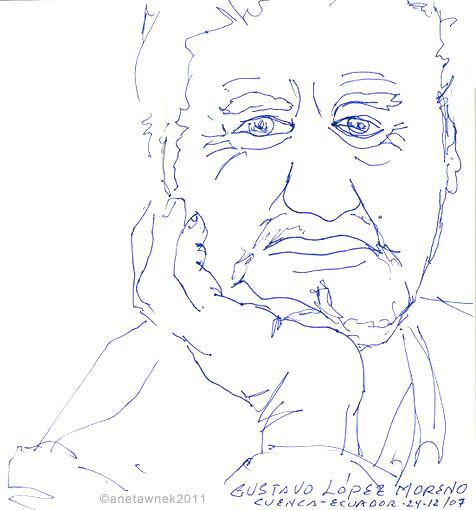Gustavo Lopez Moreno - Artist, Cuenca .j
