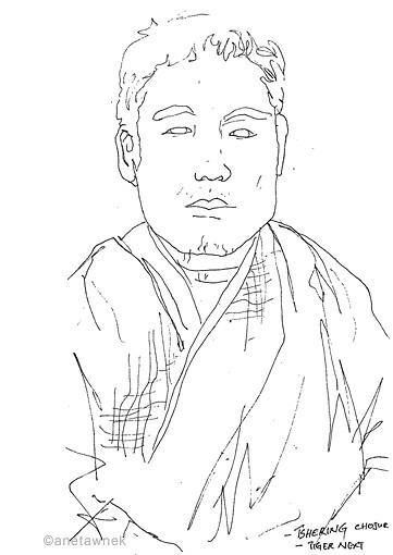 Tshering Chojur - our guide