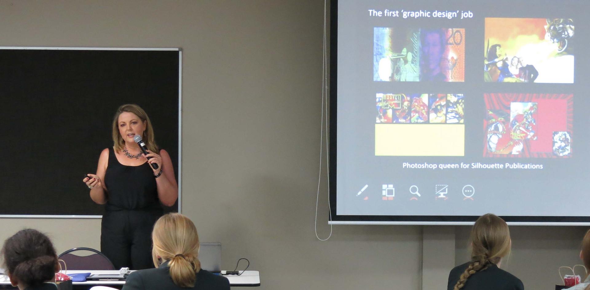 Presenting at Penrhos keynote